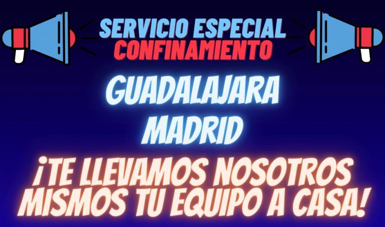 servicio especial confinamiento